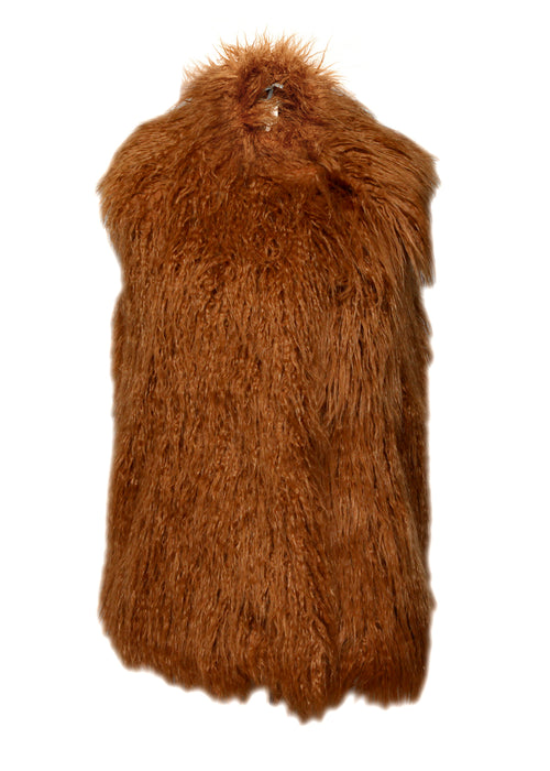 Luxury STELLA MCCARTNEY Wool Fur Vest