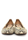 Luxury FENDI Grey Python Ballets