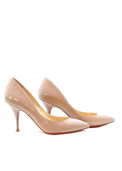 Pre owned CHRISTIAN LOUBOUTIN Nude Stiletto
