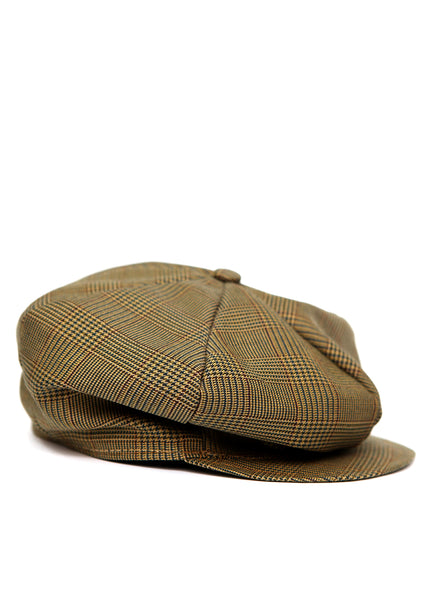 Light Brown Cap created by Azerbaijan fashion designer