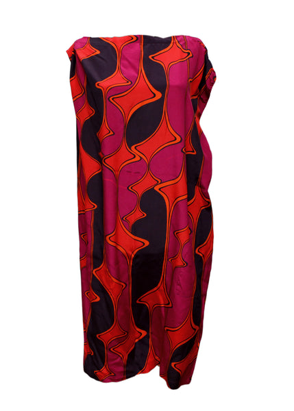 Luxury MAX MARA Printed Silk Dress