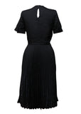 Luxury GIVENCHY Black Wool Dress