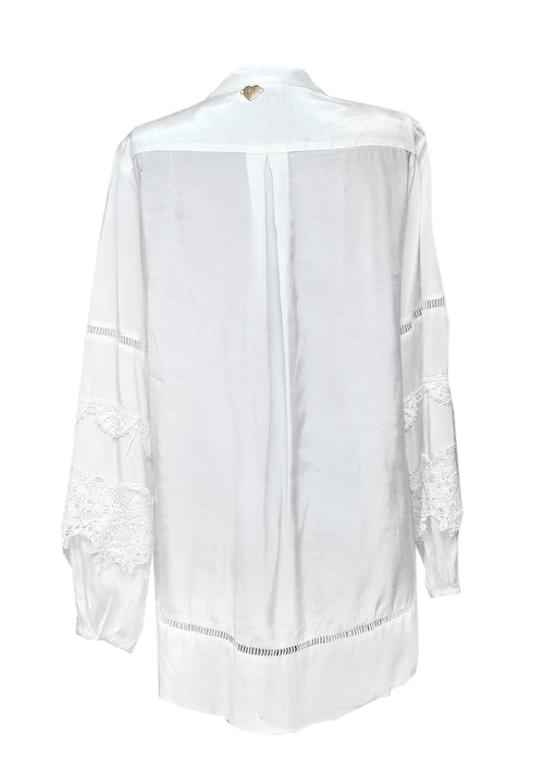 White Oversize Blouse