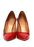 Pre owned SALVATORE FERRAGAMO Red Leather Stilettos