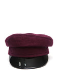 Bordeaux Color Handmade Cap created in Azerbaijan