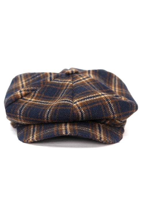 Brown & Blue Cage Cap