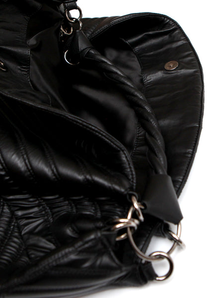 Pre owned VALENTINO Black Shoulder Bag - zoomed view