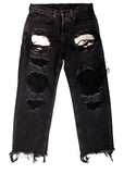 Full view of Luxury ALEXANDER WANG Boyfriend Jeans