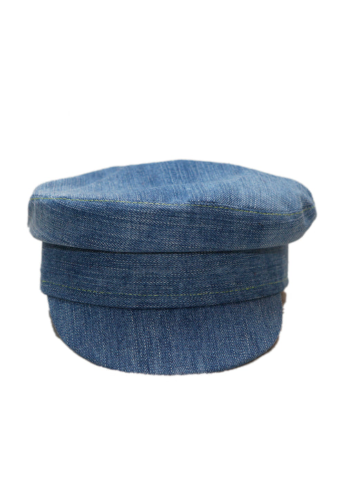 Jeans Boy Cap created by Azerbaijani fashion designer