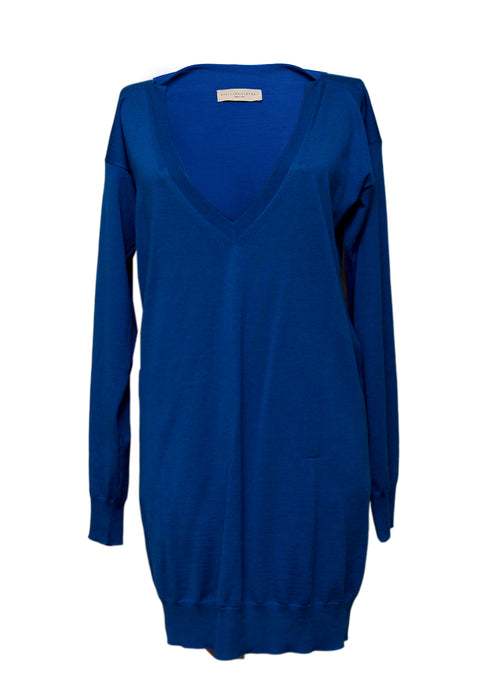 Luxury STELLA MCCARTNEY Oversize Blue Sweater