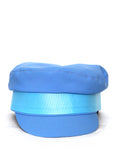 Blue Cotton cap created by Azerbaijani designer