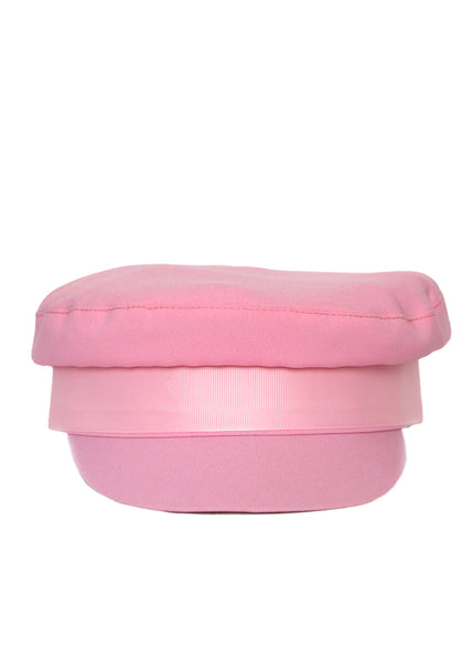 Pink Cotton Cap created by Azerbaijani designer