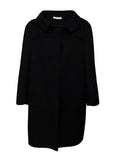 Pre owned PRADA Black Wool Classic Coat