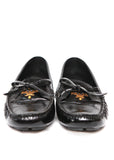 Pre owned PRADA Black Patent Leather Moccasins