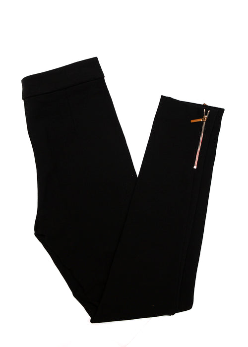 Black Trousers with Zippers