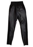 full vieü of Luxury STELLA MCCARTNEY Black Trousers with Eco Leather