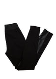 Luxury STELLA MCCARTNEY Black Trousers with Eco Leather