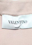 logo on Pre owned VALENTINO Pale Pink Coat