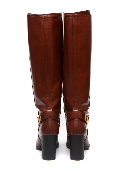 back view of Luxury TOD'S Knee High Boots