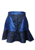 Luxury STELLA MCCARTNEY Blue Printed Skirt