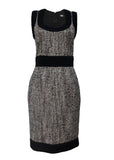Luxury DOLCE & GABBANA Black&Grey Dress