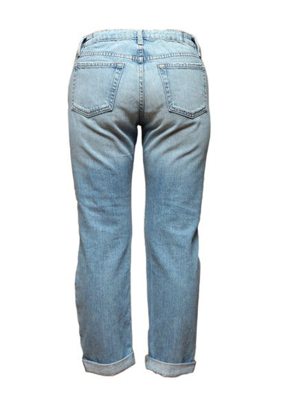 Oversize Blue Wrapped Jeans