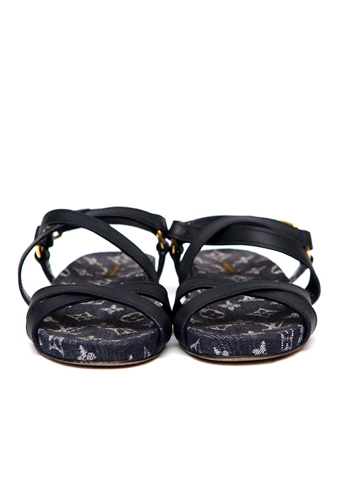Luxury LOUIS VUITTON Jeans Sandals