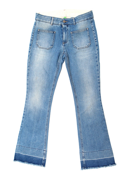 Luxury STELLA MCCARTNEY Blue Colored Jeans
