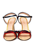 Pre owned GUCCI 2 Colored Leather Sandals