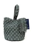 Straw Bucket Bag created by Azerbaijani designer ULkart