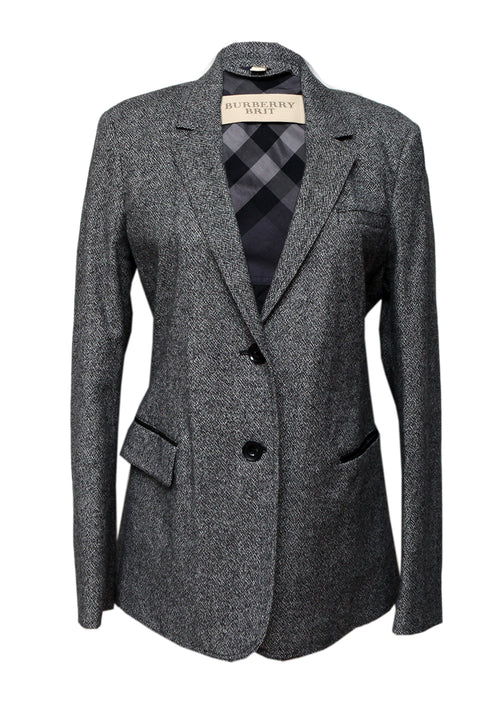 Luxury BURBERRY Wool Classic Jacket