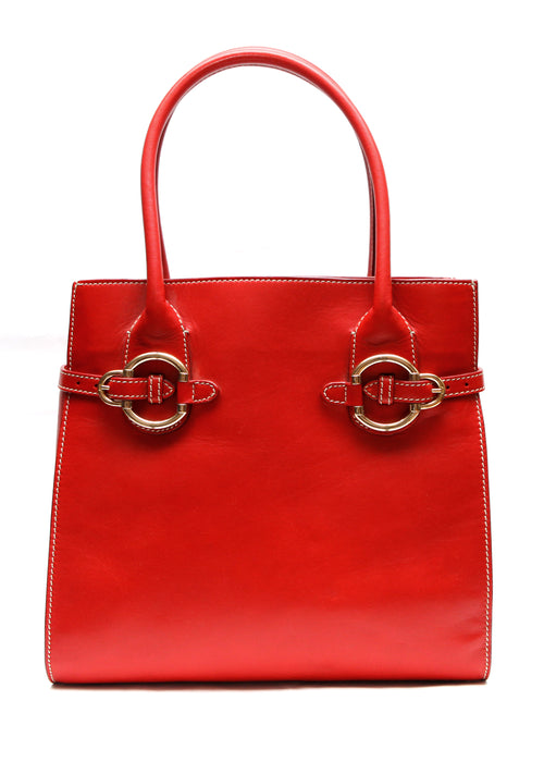 Luxury ESCADA Red Leather Bag