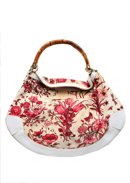 Pre owned GUCCI Floral Bag