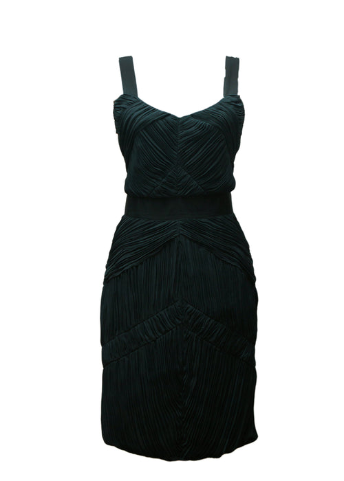 Luxury BURBERRY Dark Green Dress