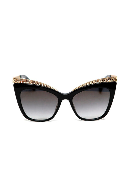 front view of Moschino Eyewear.