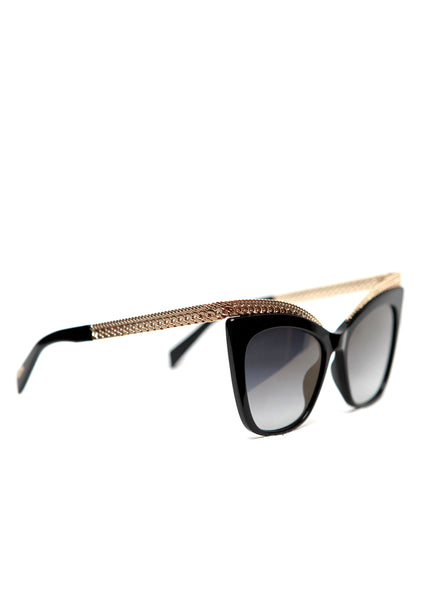 side view of Moschino Eyewear.
