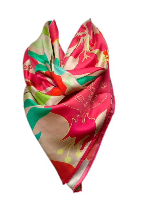 Sevil Art pomegranate scarf
