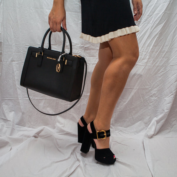 Black Saffiano Bag
