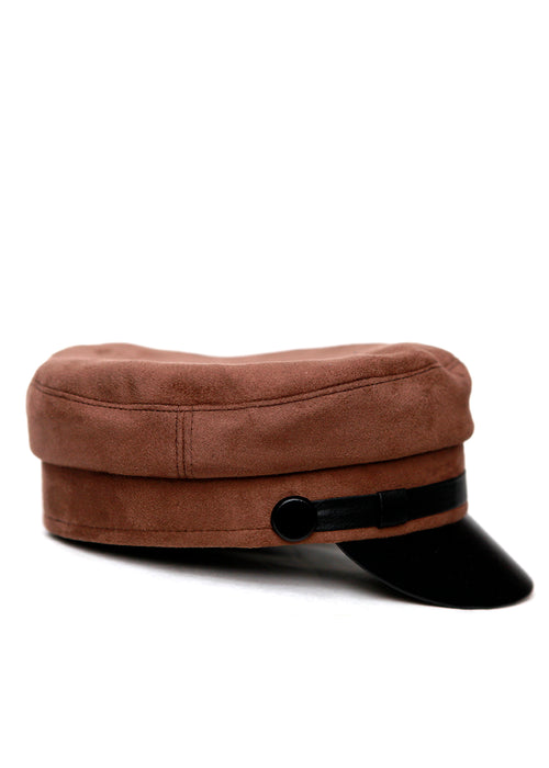 Dark Brown Cap