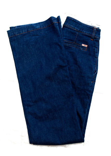 Blue Wide Jeans