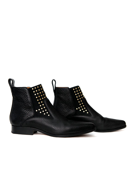 Luxury CHLOE Pointed Leather Boots