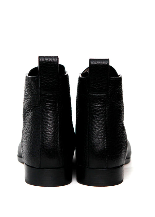 Pointed Leather Boots