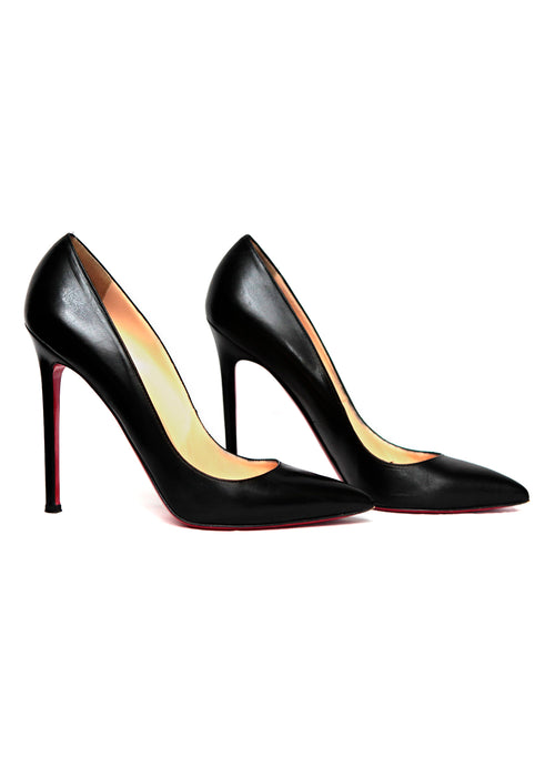side view of Christian Louboutin  shoes