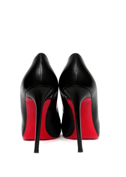 back view of Christian Louboutin  shoes