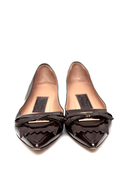 front view shoes from Salvatore Ferragamo