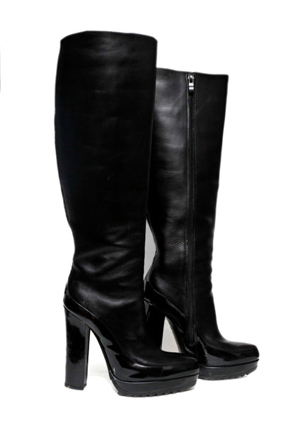 Black High Boots