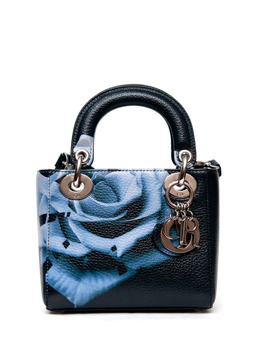 Front view of Christian Dior mint bag
