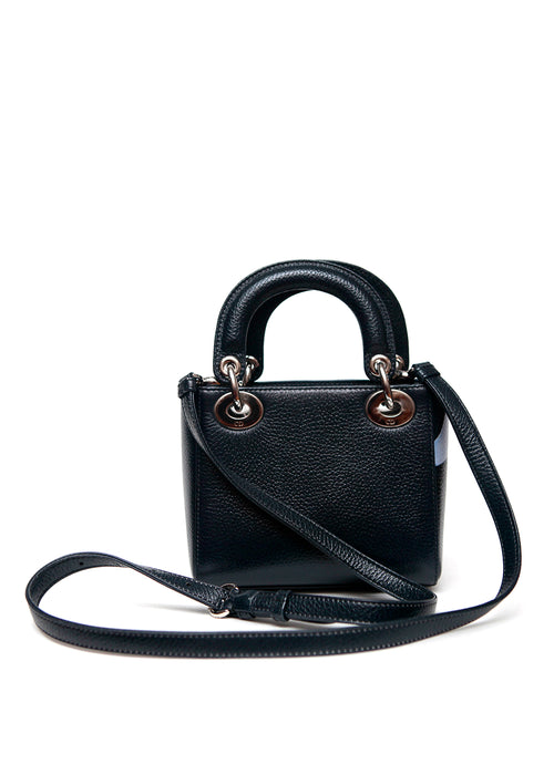 Front view of Christian Dior mint bag.