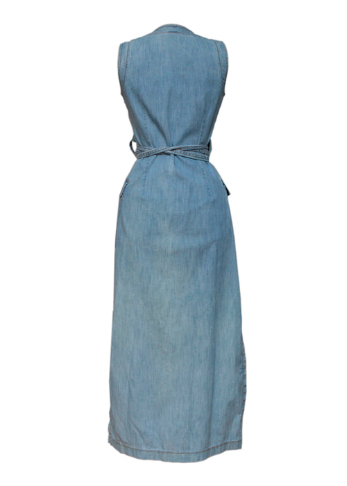 Jeans Sleeveless Dress