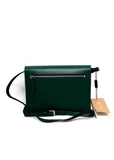Black Green Bag